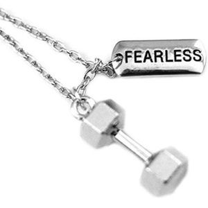 FEARLESS CHARM NECKLACE